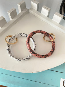 Snakeskin Key Ring (109)