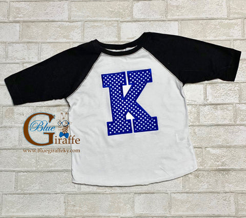 Youth/Toddler Polka Dot K Raglan