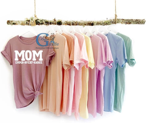 Mom Customized Kid Tee