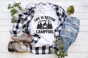 Life is Better around the Campfire Tee