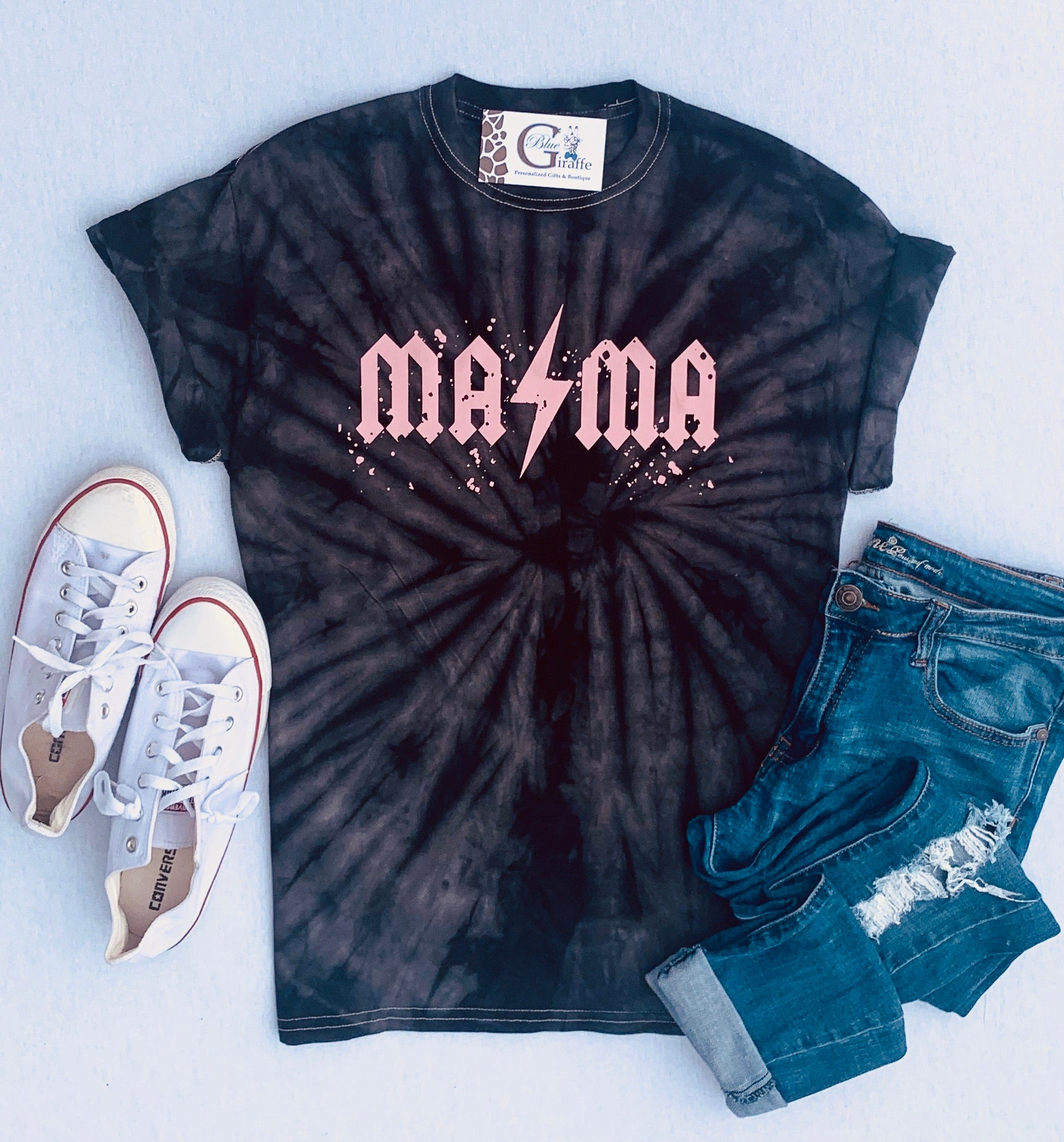 Mama and Mini Tie Dye Tee
