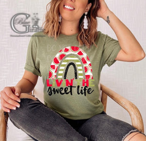 Livin The Sweet Life Watermelon Tee