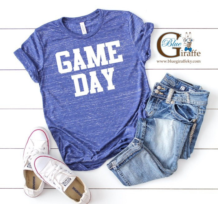 GAME DAY Marbled Tee