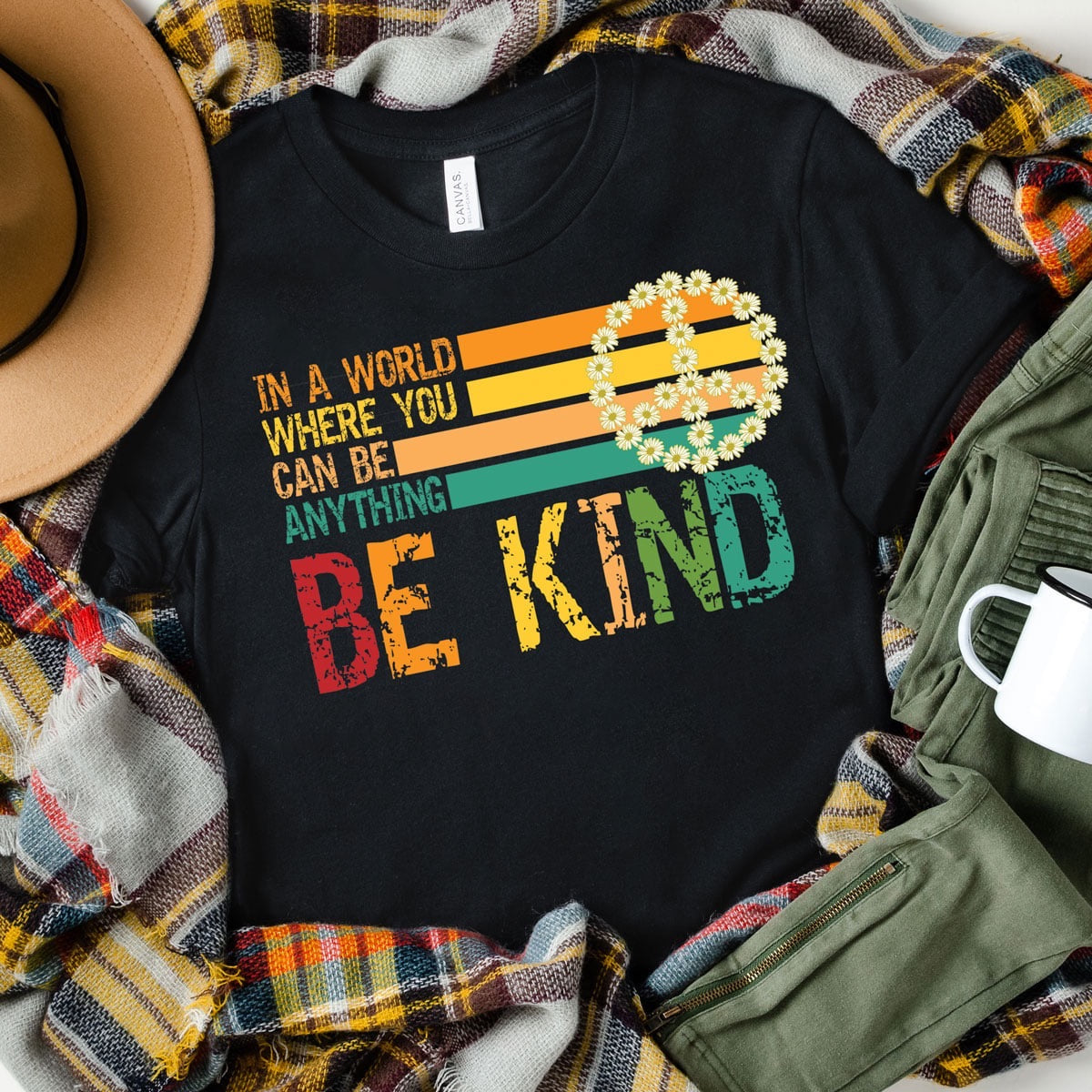Colorful In a World Where You Can Be Anything Tee