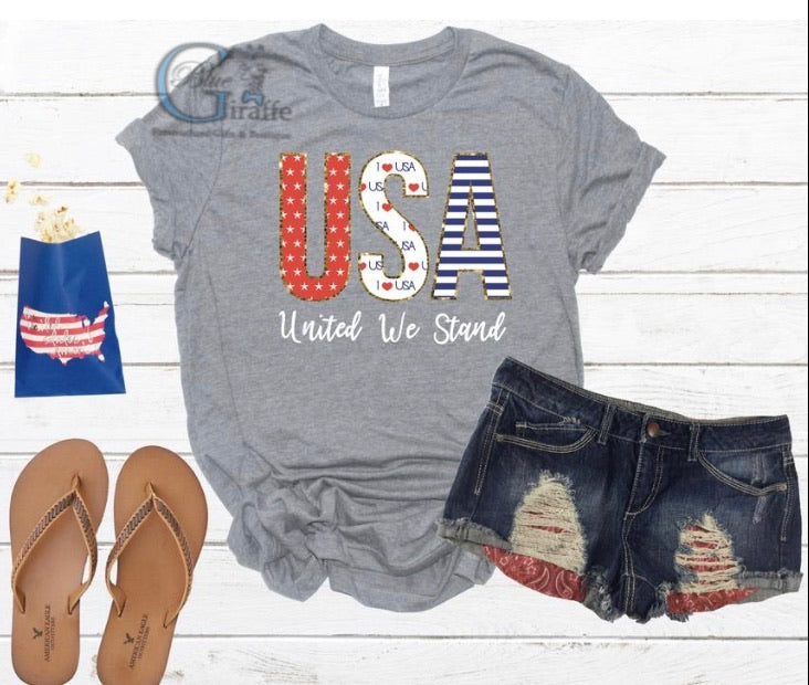 USA United We Stand Tee