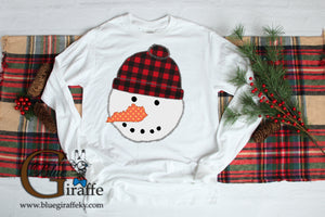 Kentucky Snowman Long Sleeve Tee