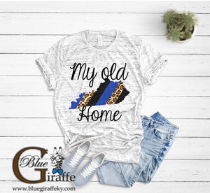 MY OLD KENTUCKY HOME BRUSHSTROKE TEE