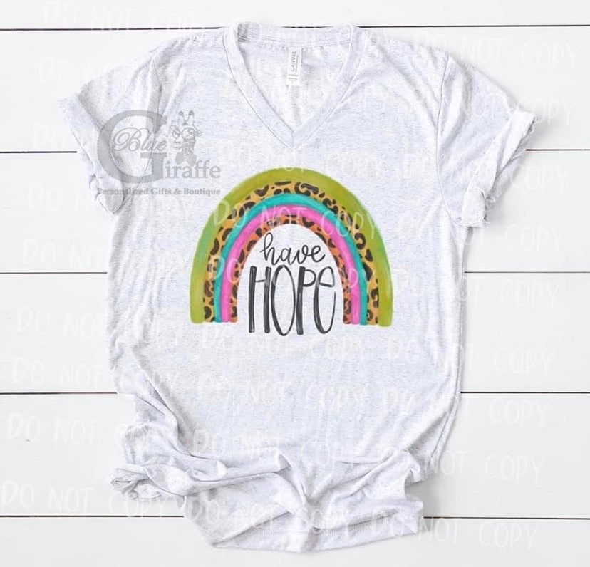 Have Hope Rainbow TEE