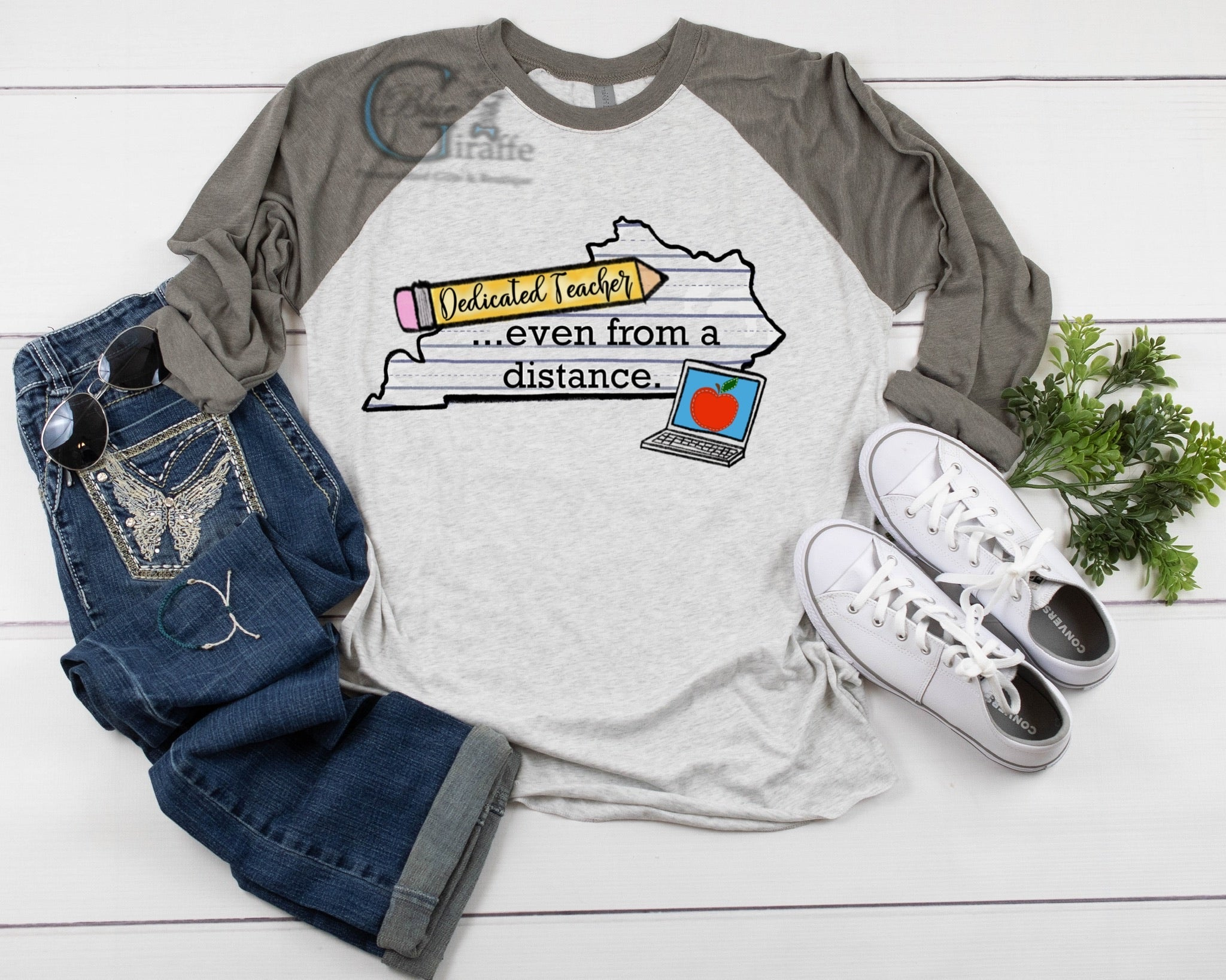 Kentucky Teaching From a Distance Tee