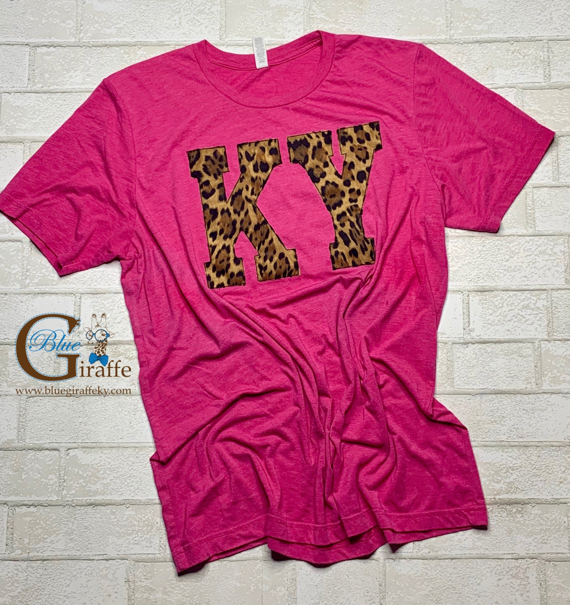 KY Applique in Leopard Tee