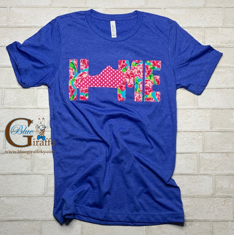 Floral Home Kentucky Tee