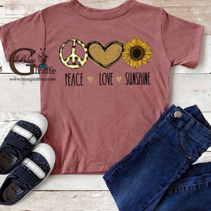 YOUTH Peace Love Sunshine Tee