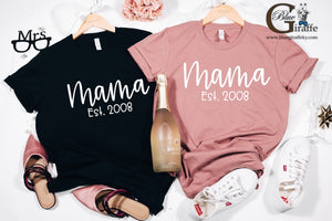 New Mama Est. Year Tee
