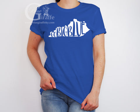Go Big Blue State Tee
