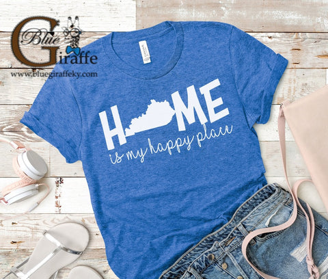 HOME IS MY HAPPY PLACE TEE