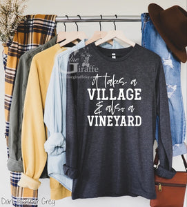 It Takes a Village Long Sleeve Tee
