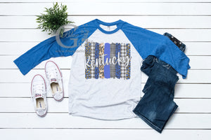 Brushstroke Kentucky Raglan