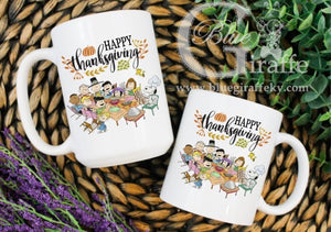 Peanuts Thanksgiving Mug