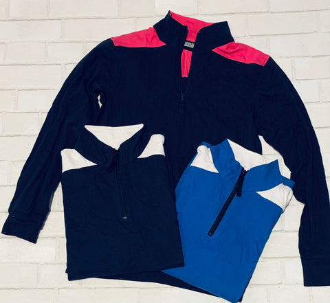 Colorblock 1/4 Zip