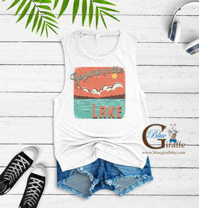 Go Jump in a Lake Muscle Tee