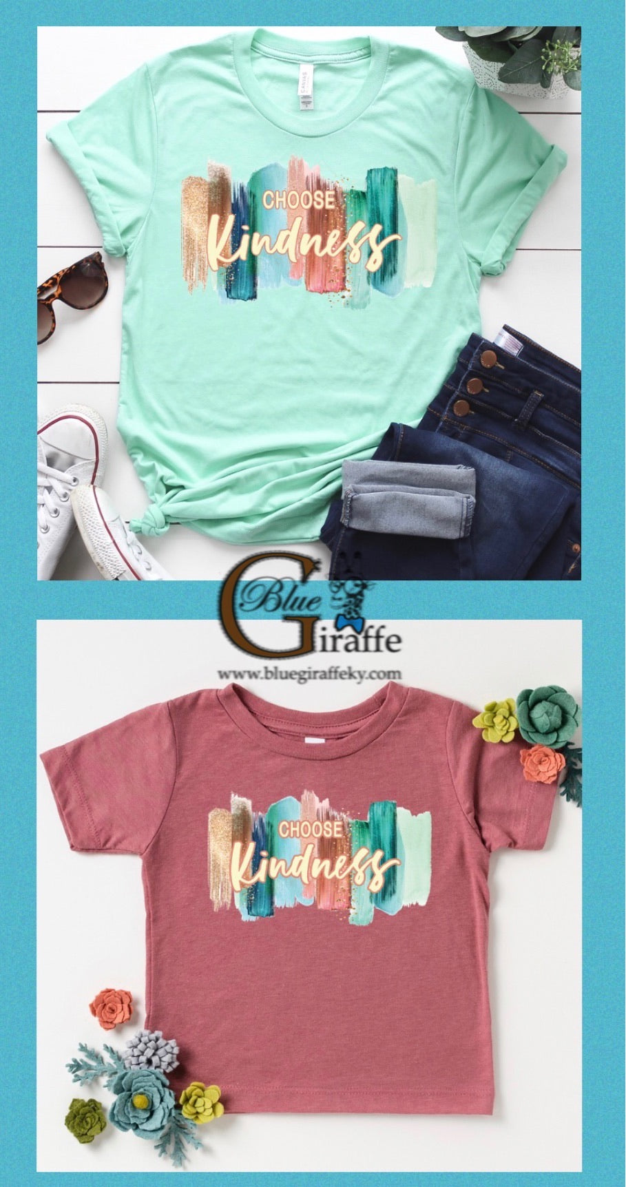 Choose Kindness Brushstroke Tee