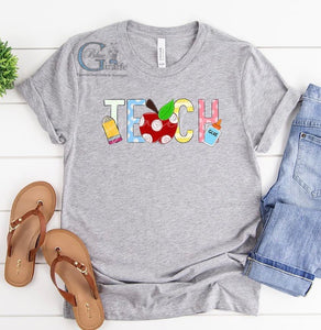 Graphic Art Teach Tee