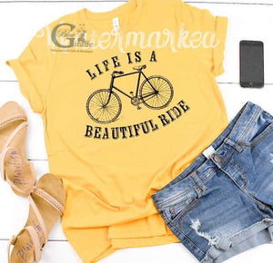 Life is a Beautiful Ride Tee