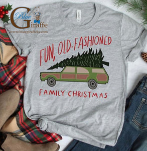 Fun, Old Fashioned Christmas Tee