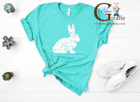 Distressed Bunny Tee
