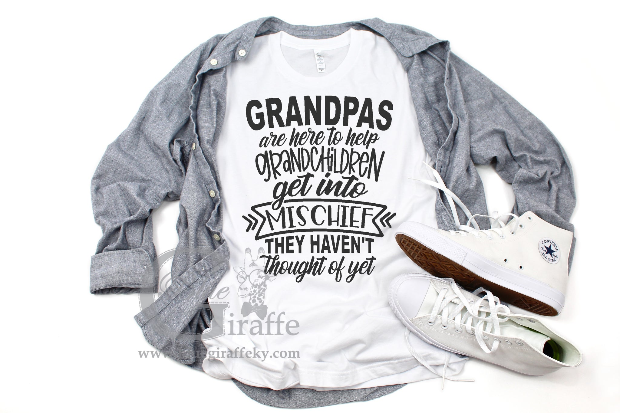 Grandpas are Here Tee