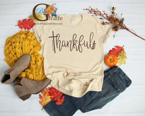 Thankful Cross Tee