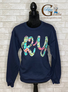 Fancy Floral KY Sweatshirt