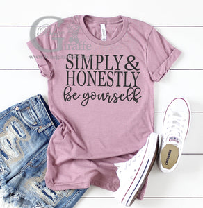 Simply and Honestly Tee