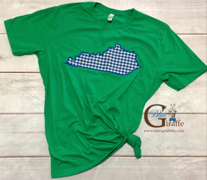 Gingham State Tee