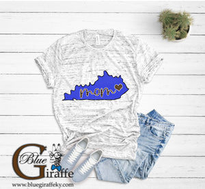 KENTUCKY STATE MOM TEE