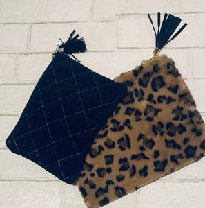 Faux Fur Clutches