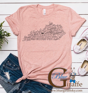 Kentucky Distilleries Tee