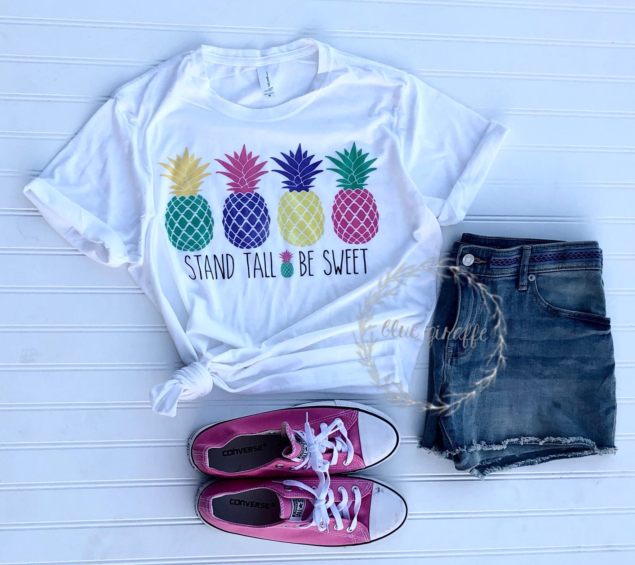 Stand Tall & Be Sweet Tee