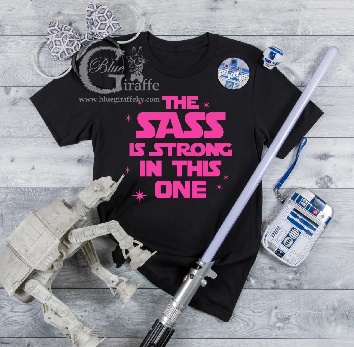 The Sass is Strong Tee