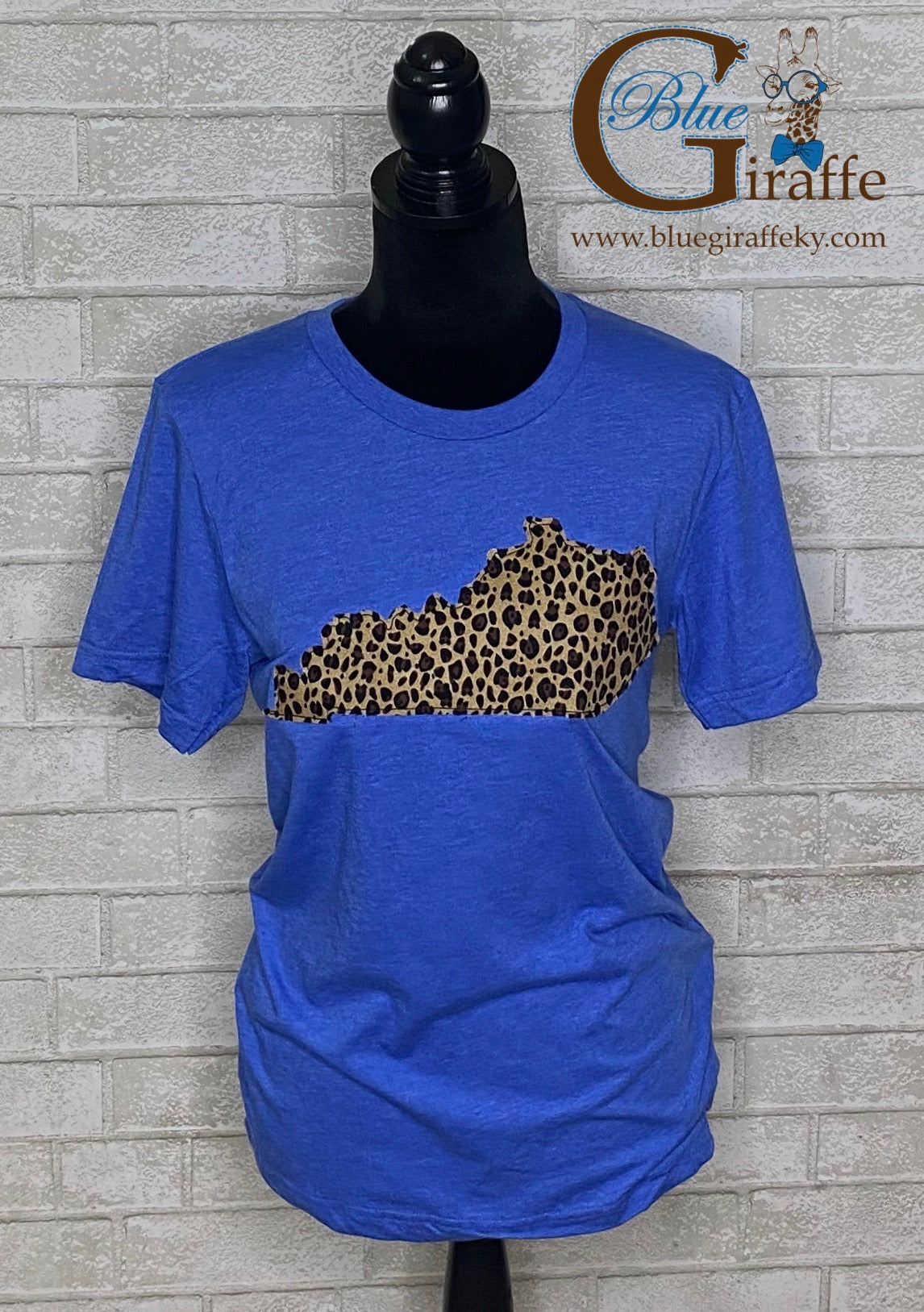 Leopard State Applique Tee