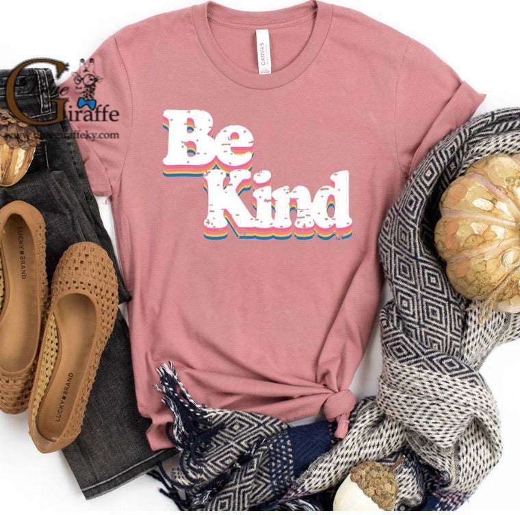 Stacked Be Kind Tee