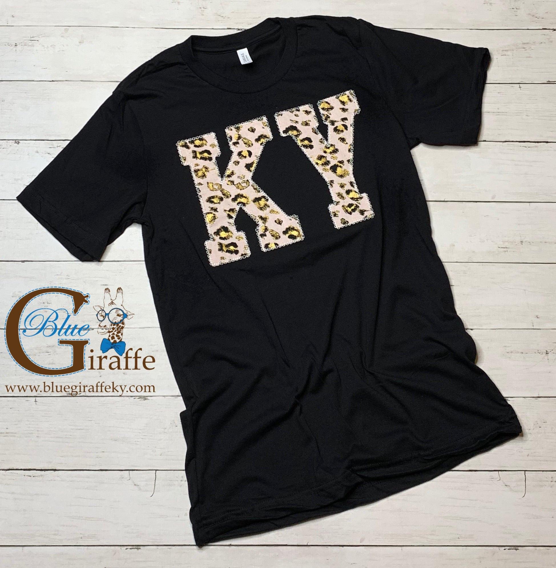 KY Pink Leopard Tee
