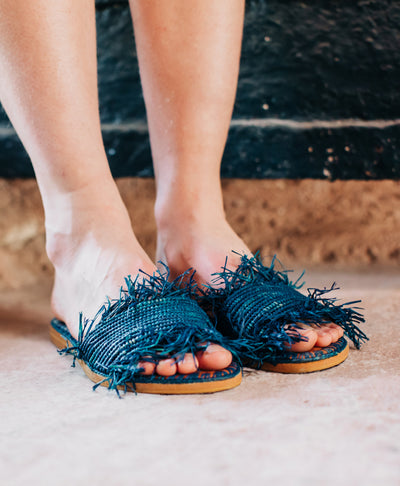 Marrakchi Sandal Blue
