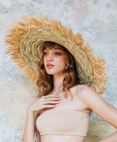 Marrakchi Straw Hat Natural