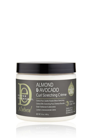 Natural Almond & Avocado Curl Stretching Cream