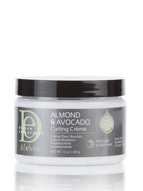 Natural Almond & Avocado Curling Creme