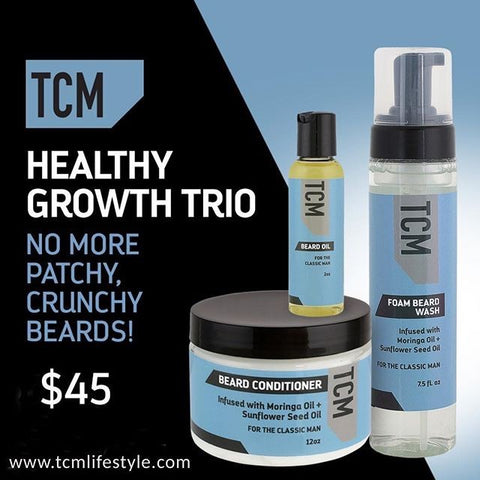 Men Grooming TCM Trio Kit