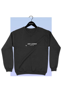 MINI (TODDLER) Aint Laurent Crew Neck