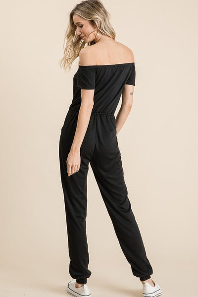Brody off the Shoulder Jumpsuit