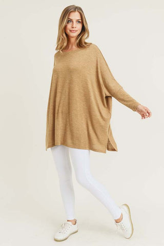 Vici Camel Oversized Top